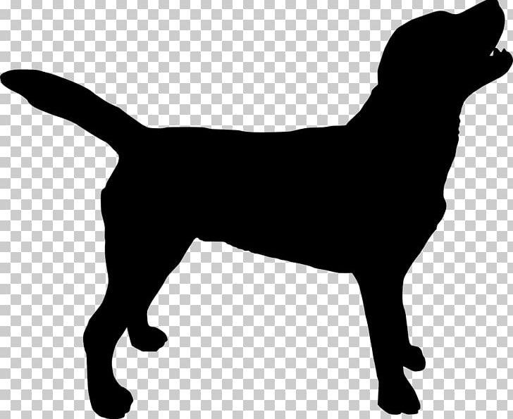 Labrador retriever clipart black white free image black and white Labrador Retriever Silhouette Puppy PNG, Clipart, Animals ... image black and white