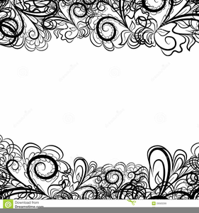 Lace clipart images banner library download Free Lace Clipart | Free Images at Clker.com - vector clip ... banner library download