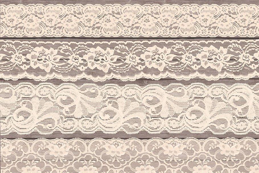 Lace clipart images vector transparent Ivory Lace Clipart Borders vector transparent