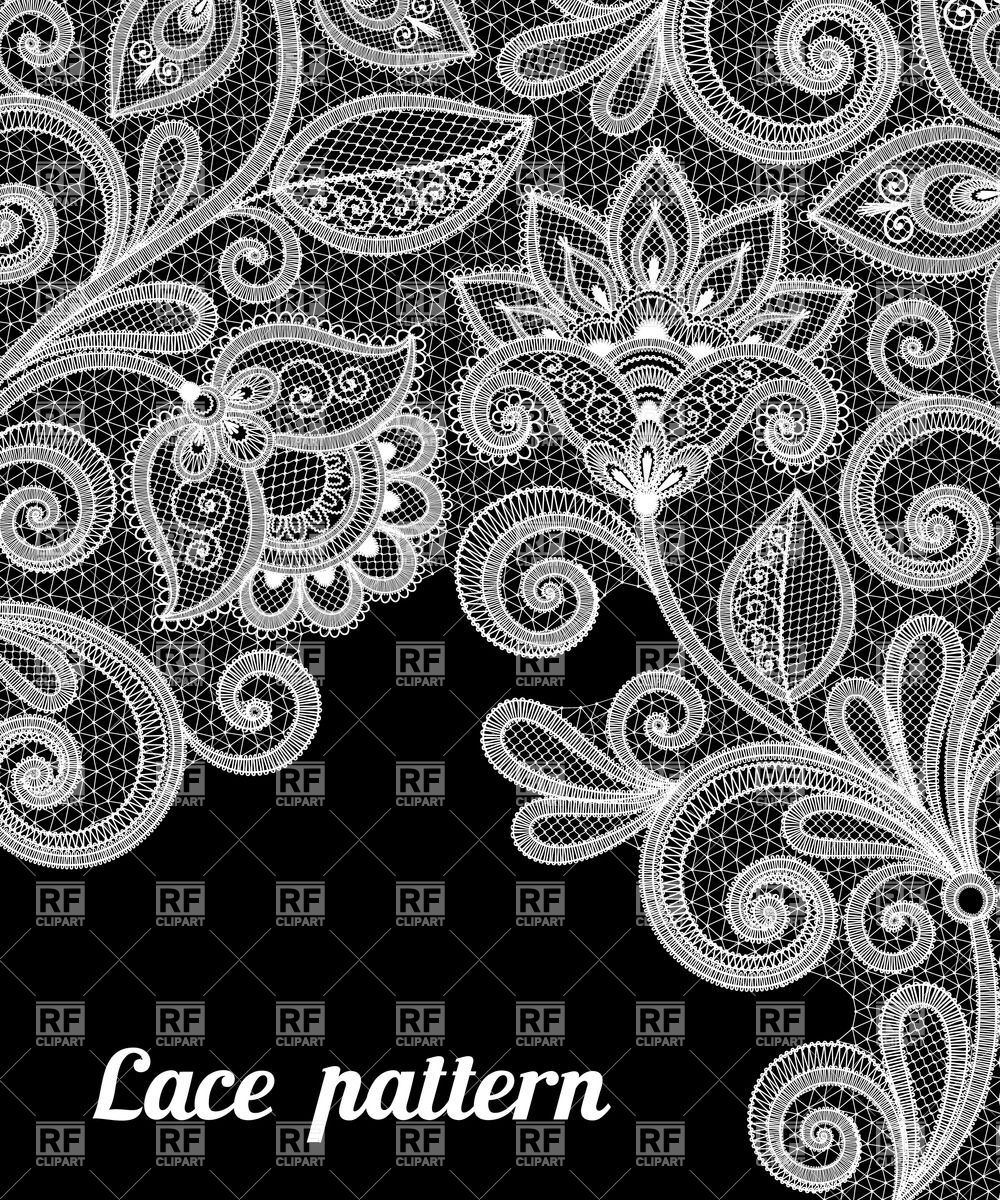 Lace fabric clipart clipart free Pin by 기랑 on lace | Free vector clipart, Floral lace, Pattern clipart free