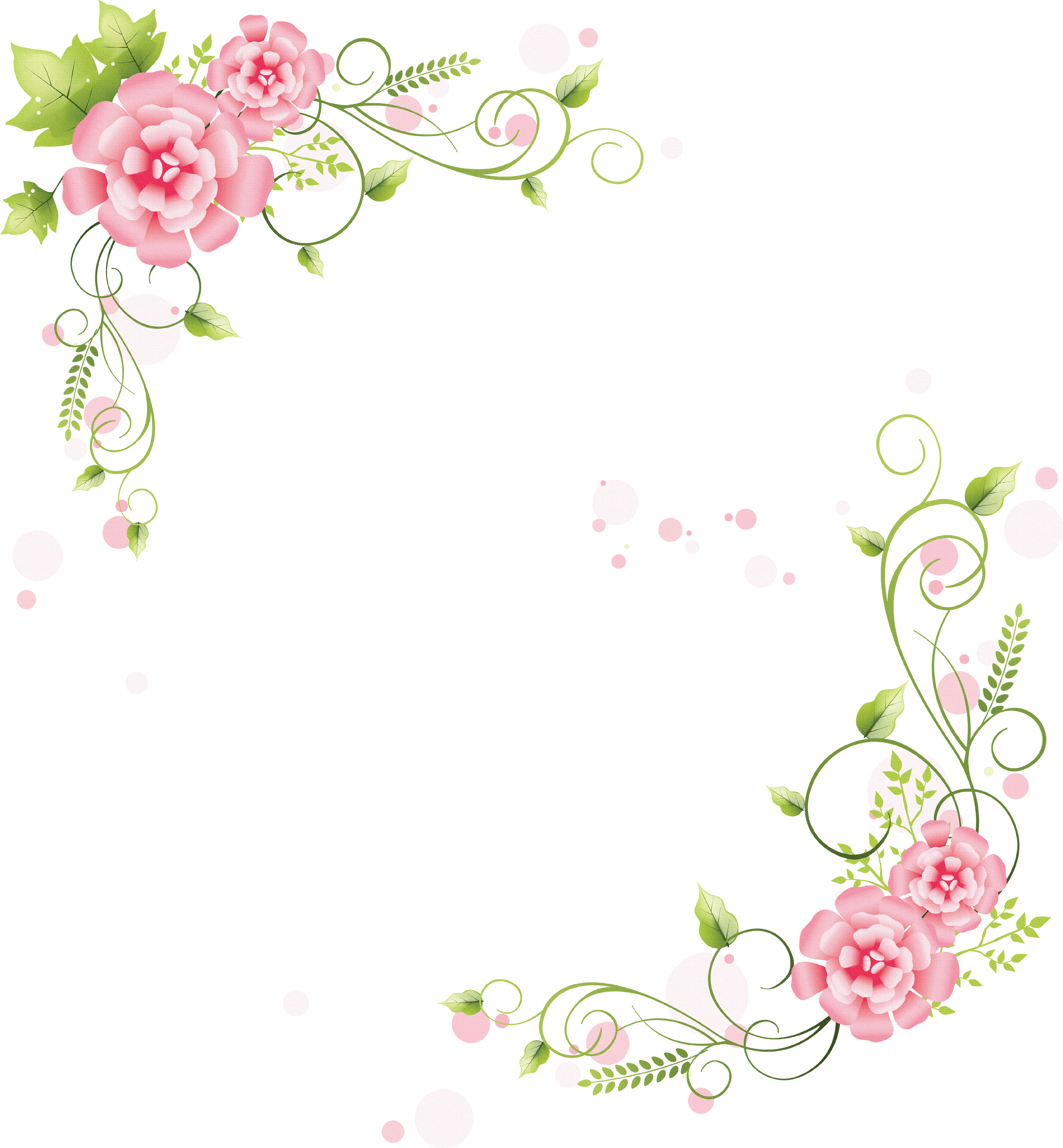 Lace flower clipart jpg library download flowers png   壁紙・背景イラスト/花のフレーム・外枠 No.186 ... jpg library download