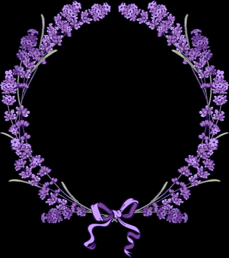 Lavendar flower clipart free Floral vintage background with lavender (4) [преобразованный ... free