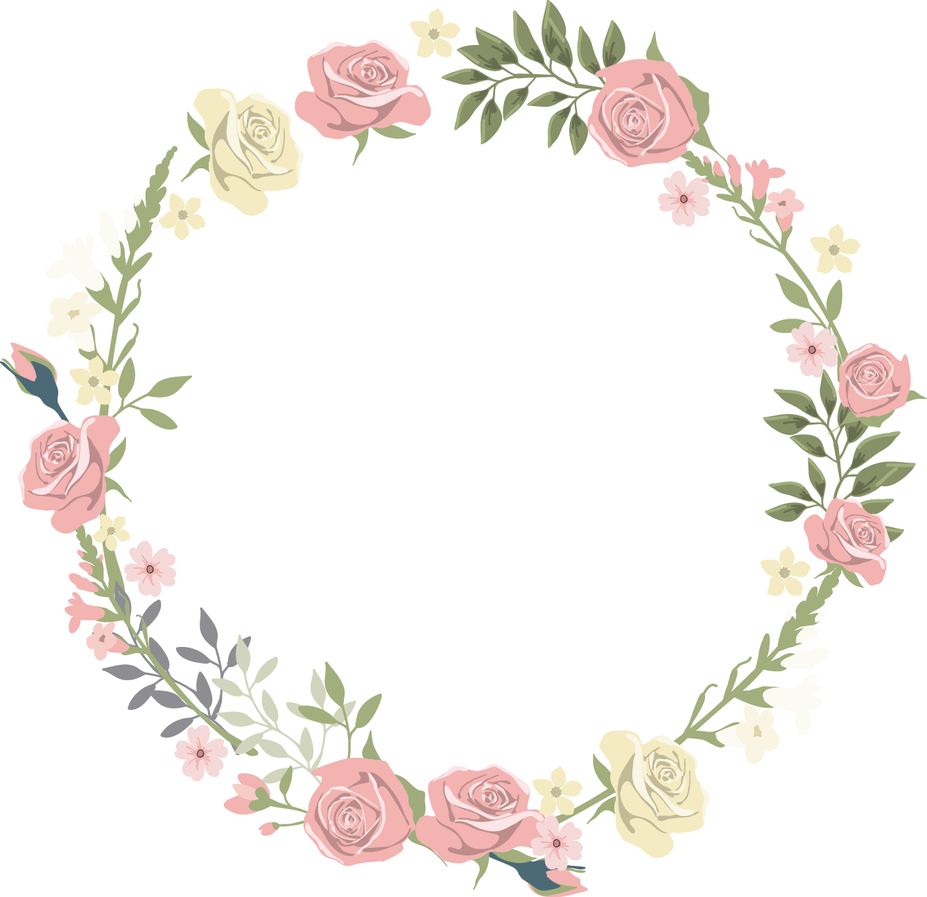 Lace flower clipart jpg freeuse Pink flowers - Lace 1337*1295 transprent Png Free Download - Pink ... jpg freeuse