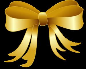 Laco dourado clipart clip art freeuse fita laço golden dourado ouro gold @lucianoballack... clip art freeuse