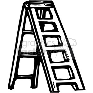 Ladder black and white clipart clip library stock ladder clipart - Royalty-Free Images | Graphics Factory clip library stock