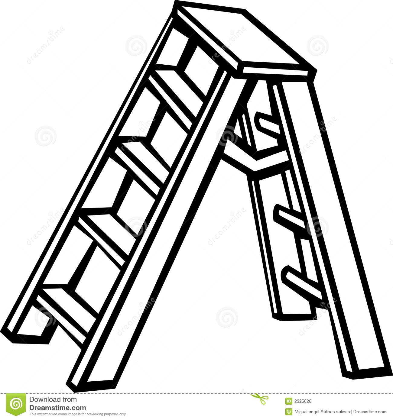 Ladder black and white clipart svg Ladder clipart black and white 7 » Clipart Station svg