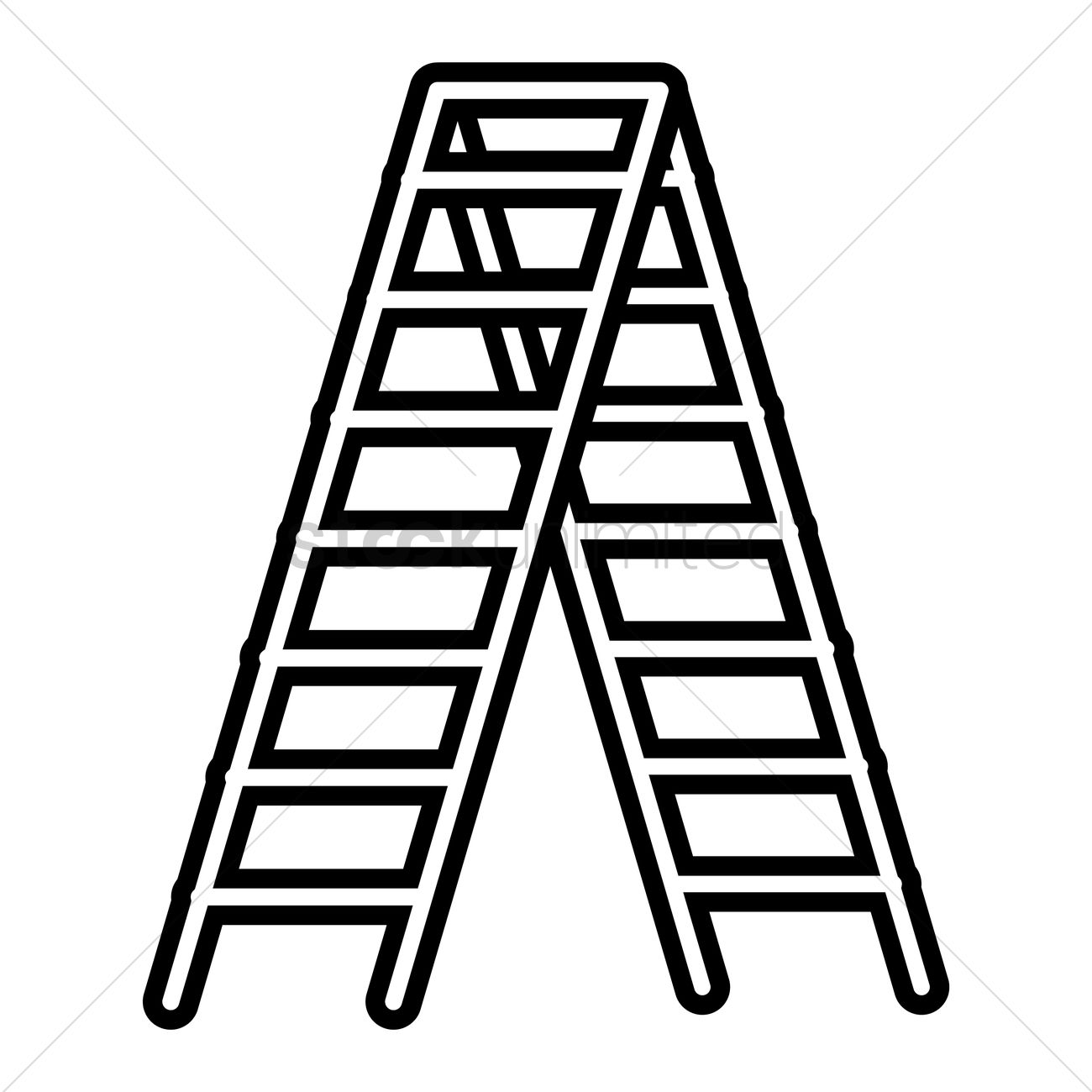 Ladder black and white clipart graphic transparent library ladder clipart black and white intended for your inspiration ... graphic transparent library