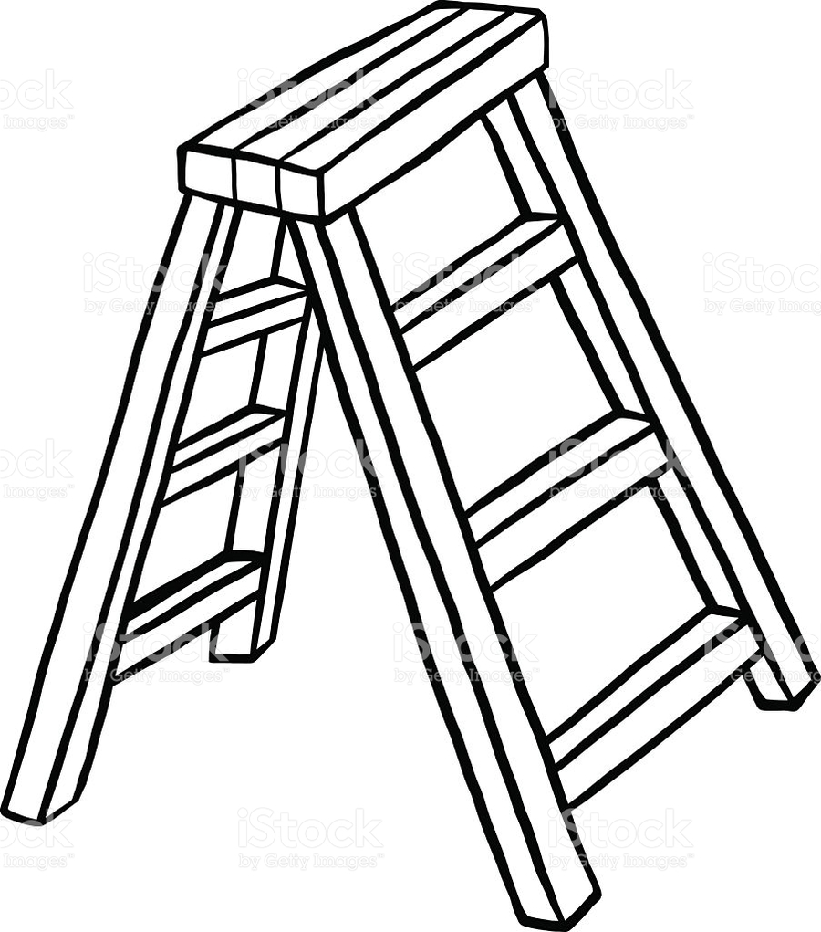 Ladder black and white clipart picture black and white library Download clip art black and white ladder clipart Clip art ... picture black and white library