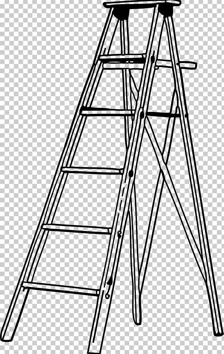 Ladder black and white clipart clipart black and white library Snakes And Ladders PNG, Clipart, Angle, Black And White ... clipart black and white library