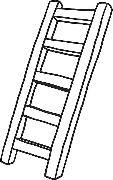Ladder black and white clipart image transparent download Ladder black and white clipart 7 » Clipart Station image transparent download