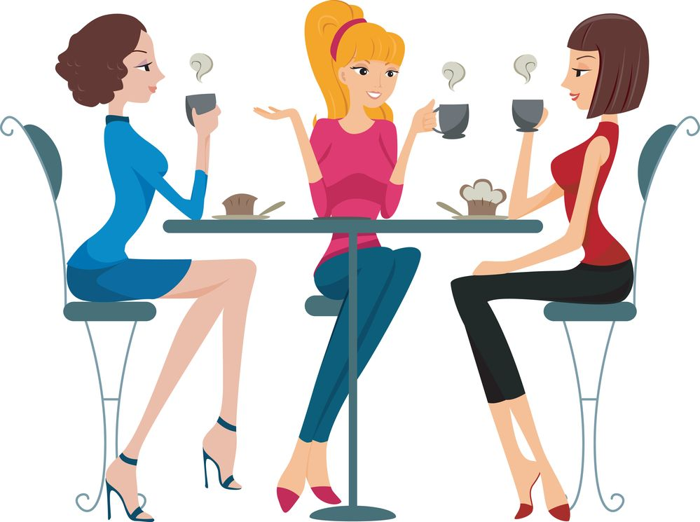 Ladies breakfast clipart clipart free download cartoon+pics+of+groups+of+women | Clip art girls night out ... clipart free download