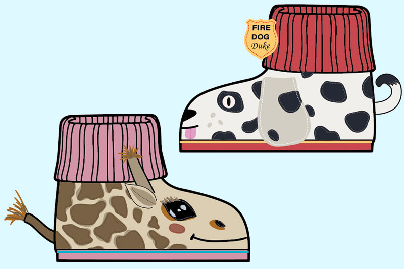 Ladies cute warming bootie slippers sitting by the fireplace clipart jpg royalty free Kids Archives - Threads by Garnet Hill jpg royalty free