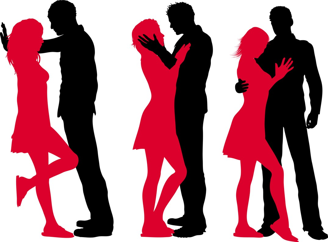 Ladies man clipart svg library Man And Woman Silhouette Clipart | Free download best Man ... svg library