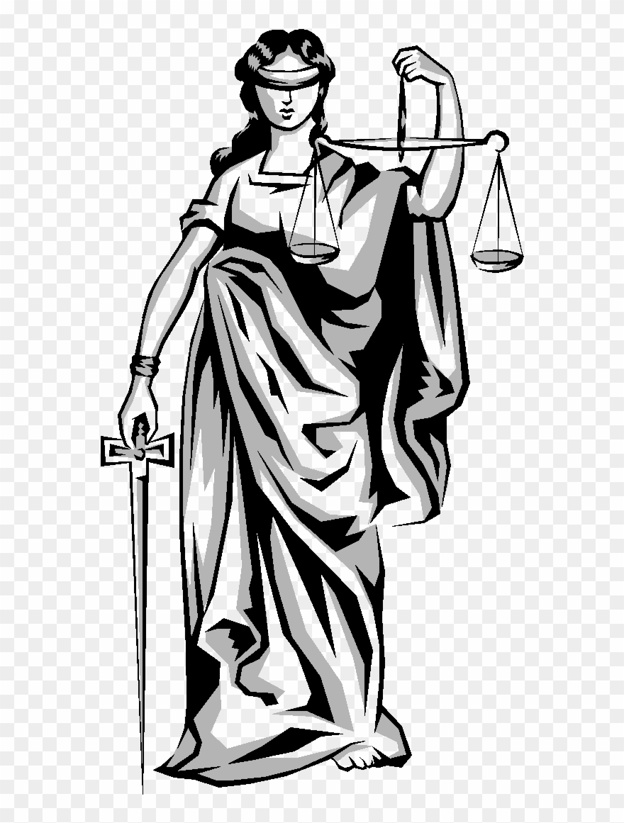 Lady justice clipart vector transparent Weighing Scales Lady Justice Clipart (#4441767) - PinClipart vector transparent
