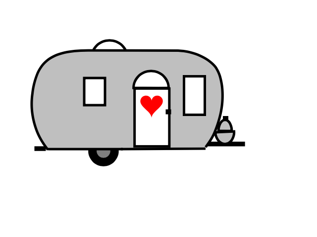 Smelly money clipart clipart stock Peek Inside — For the Love of Airstreams clipart stock