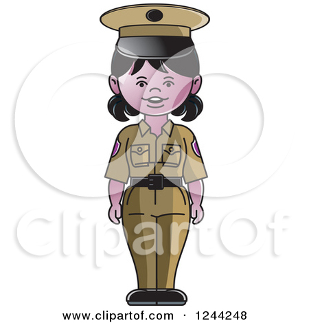 Lady security guard clipart image library library Female security guard clipart - ClipartFox image library library