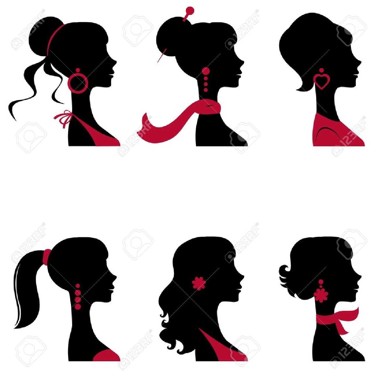 Lady wearing jewelry clipart banner library library Female santa wearing jewelry clipart - Clip Art Library banner library library