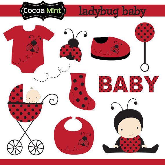 Ladybug baby clipart