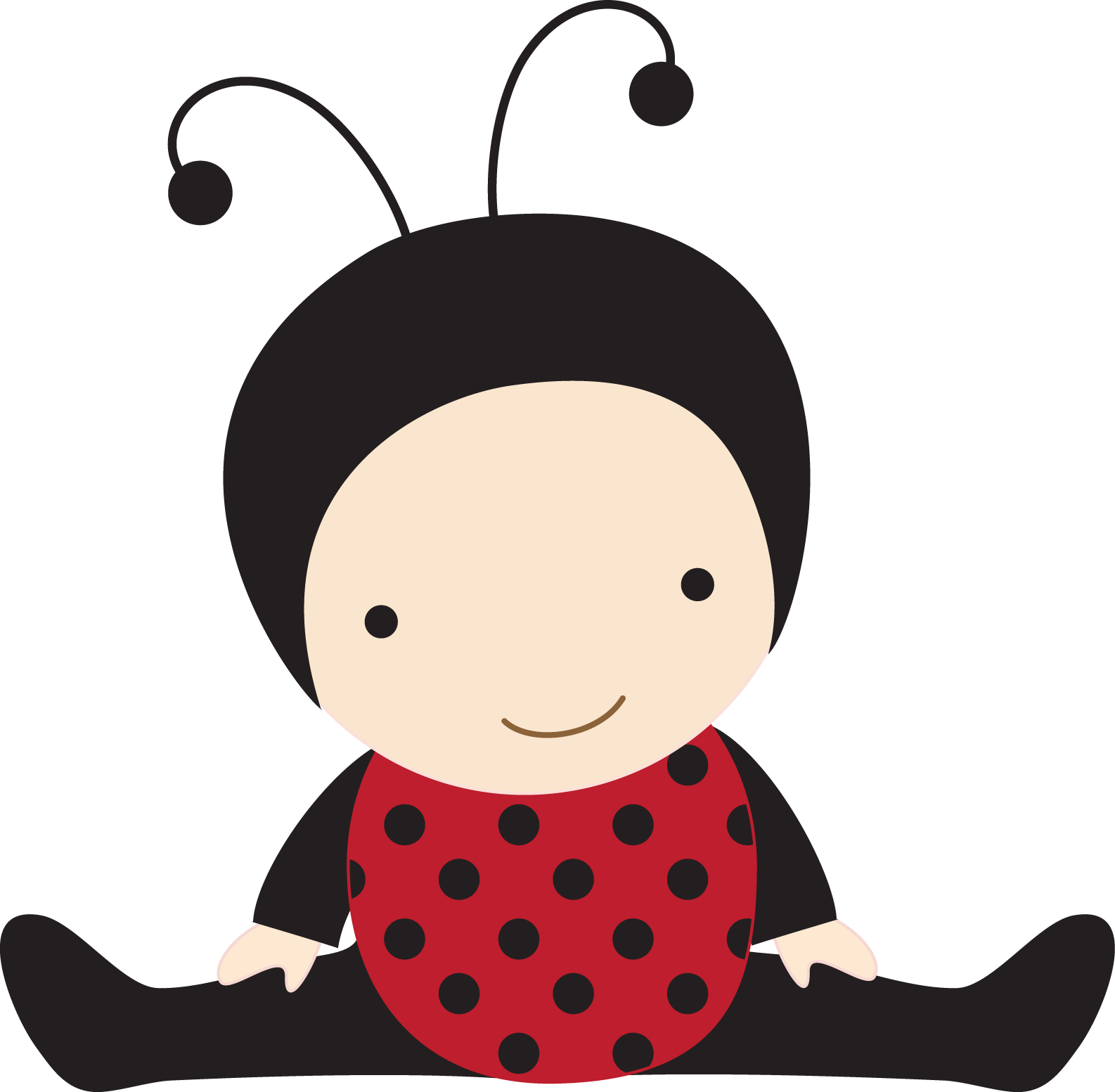 Ladybug baby clipart vector free download Cute Ladybug Clipart | Free download best Cute Ladybug ... vector free download