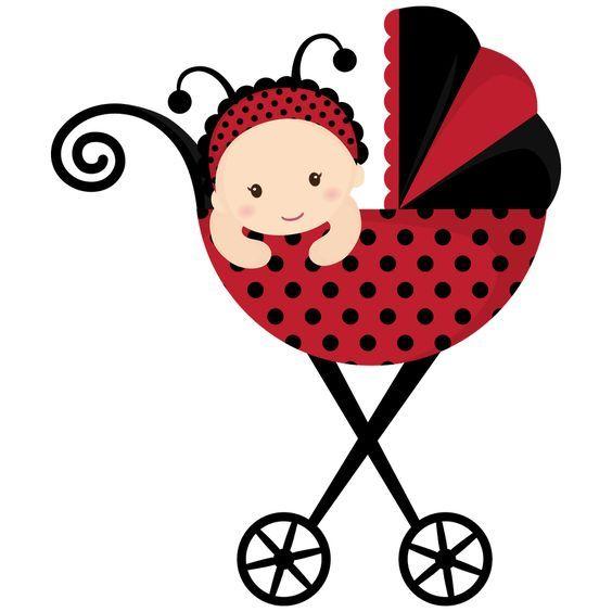 Ladybug baby clipart image royalty free download Ladybug Baby Shower Clip Art | ... BABY, BABY CLOTHES, BABY ... image royalty free download