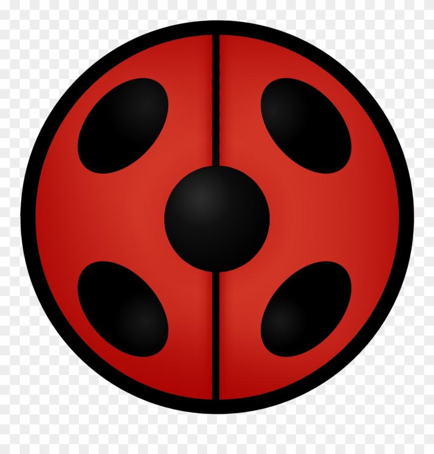 Ladybug icon clipart picture black and white library Miraculous Ladybug Symbol - Miraculous Logo Ladybug Clipart ... picture black and white library
