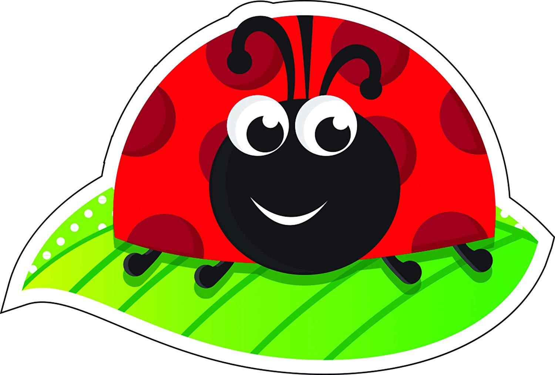 Ladybug on leaf clipart image royalty free download Amazon.com : Magnetic Whiteboard Eraser, Ladybug on Leaf ... image royalty free download