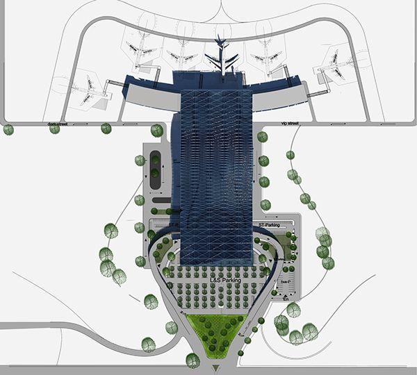 Lae clipart airport vector transparent download International Airport Terminal in Jordan - Amman | Major ... vector transparent download