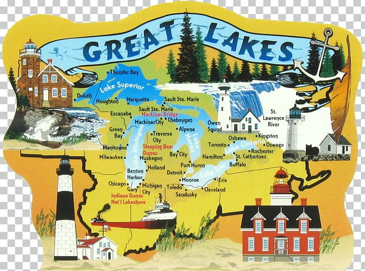 Lake erie clipart image black and white stock Lake Erie Great Lakes Region Lake St. Clair Michigan ... image black and white stock