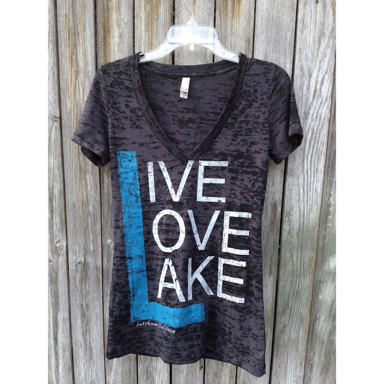 Lake life clipart large for t shirt