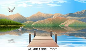 Lake view clipart transparent stock Lake view Clipart Vector Graphics. 4,561 Lake view EPS clip ... transparent stock