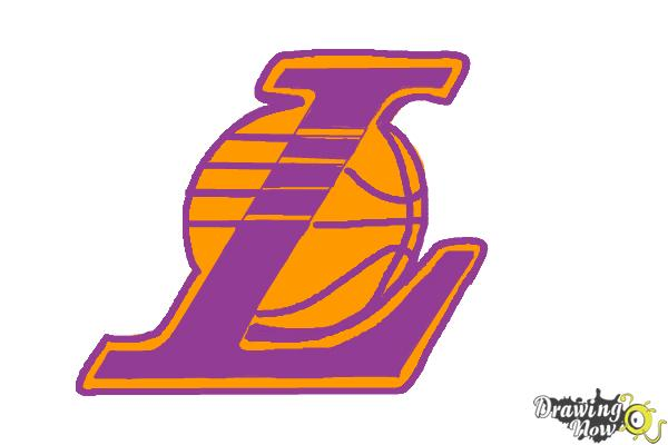Lakers logo clipart svg royalty free library Lakers Logo Drawing | Free download best Lakers Logo Drawing ... svg royalty free library
