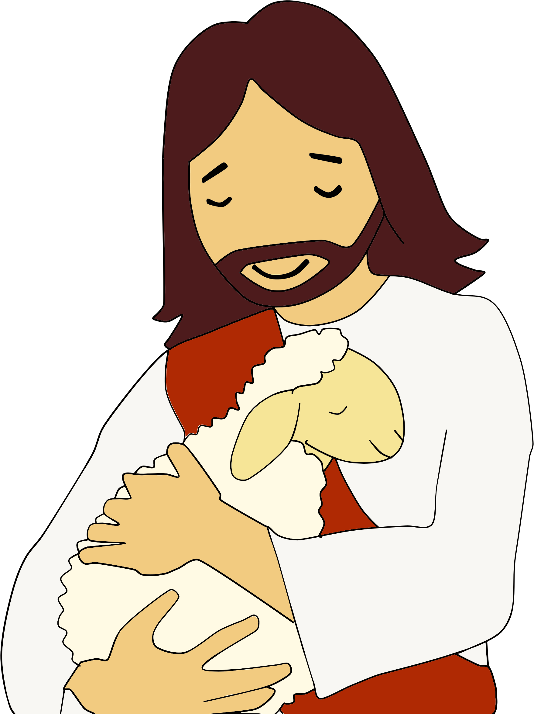 Lamb and cross clipart banner royalty free stock Clipart - Jesus Christ And Lamb banner royalty free stock