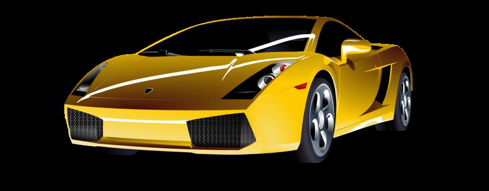 Lamborghini car clipart