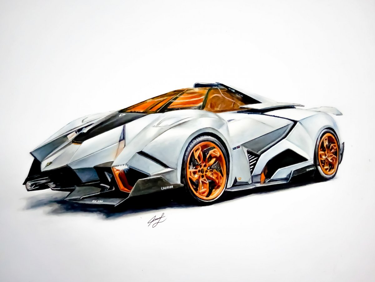 Lamborghini egoista clipart royalty free library Lambo Drawing | Free download best Lambo Drawing on ... royalty free library