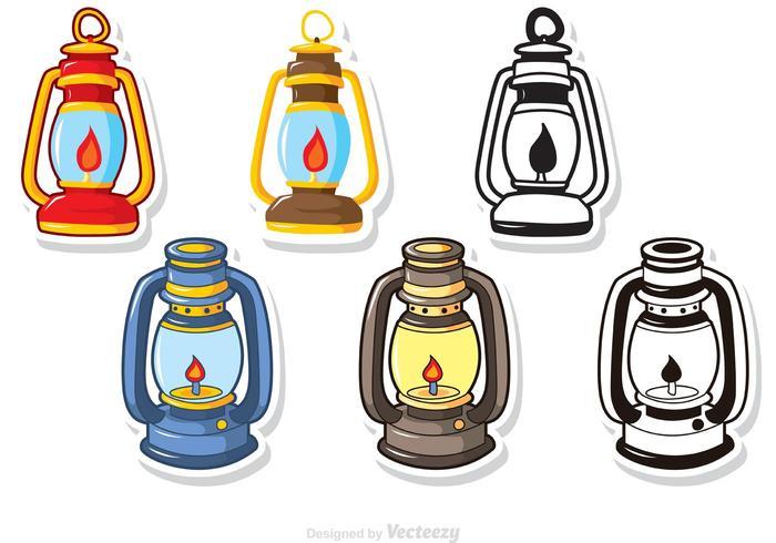 Lamp clipart vector jpg stock Gas Lamp Vectors Pack - Download Free Vectors, Clipart ... jpg stock
