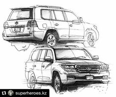 Land cruiser clipart graphic black and white download 124 Best Land Cruiser Artwork images in 2018   Land cruiser ... graphic black and white download