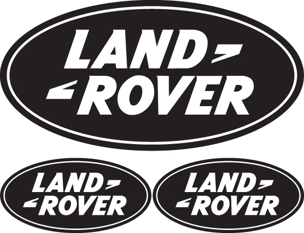 Land rover logo clipart vector black and white library Land rover Logos vector black and white library