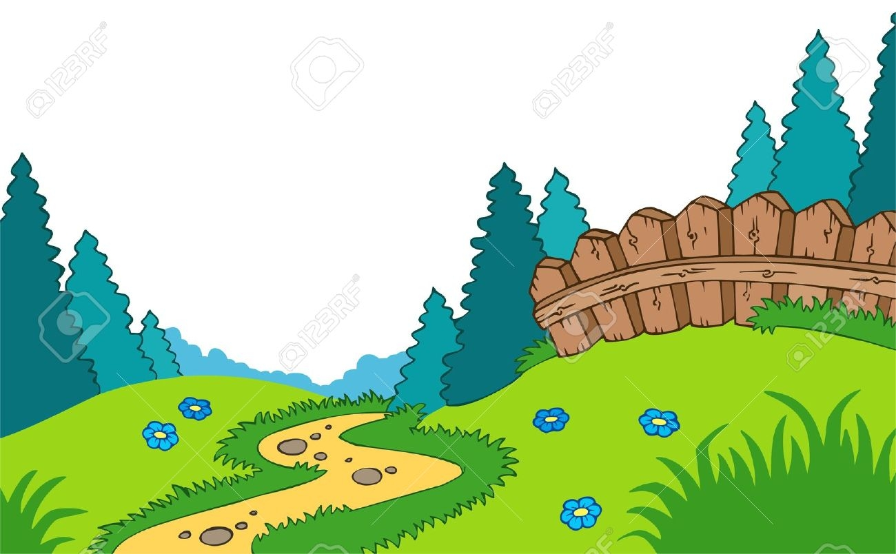 Landscaping cliparts vector freeuse Landscape Clipart | Free download best Landscape Clipart on ... vector freeuse