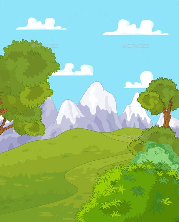 Landscape clipart files royalty free download Pin by Bwpuwlriydu on Vector Free | Mountain landscape ... royalty free download