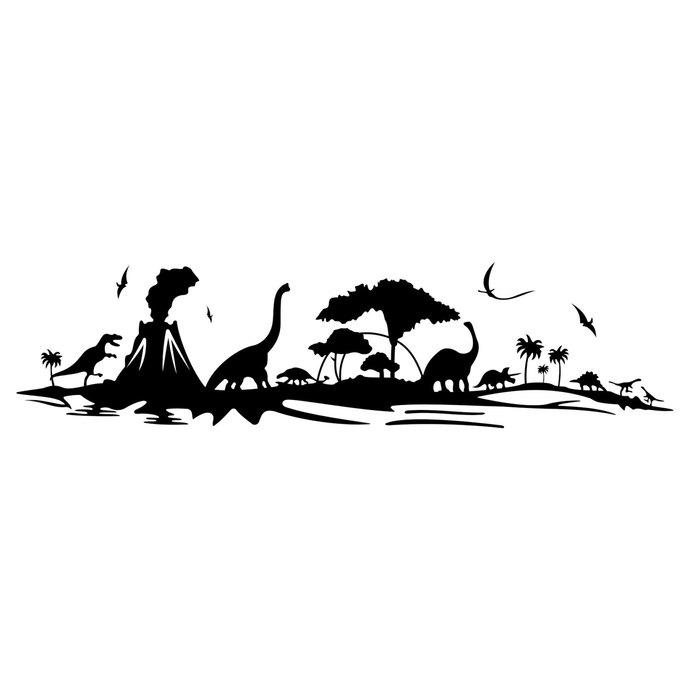 Landscape clipart files picture free Dinosaurs landscape graphics design SVG DXF EPS Png Cdr Pdf Vector Art  Clipart instant downloads Digital Cut Print Files T-Shirt Vinyl Decal picture free