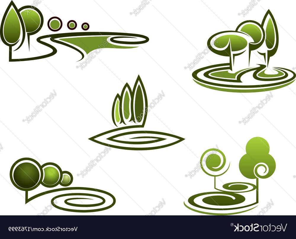 Landscape design clipart picture free download HD Landscape Design Vector Cdr » Free Vector Art, Images ... picture free download