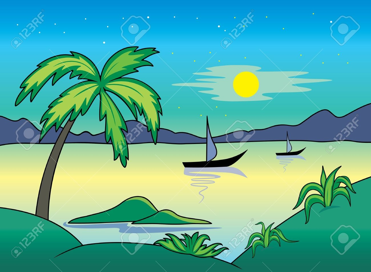 Landscapes clipart vector royalty free download Landscape clipart Best of Landscapes cliparts image 1 ... vector royalty free download