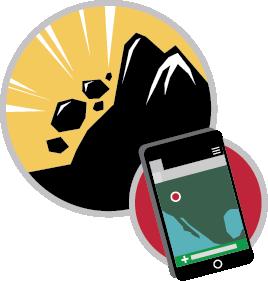 Landslide clipart png free Landslide Reporter png free