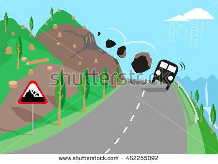 Landslide clipart svg transparent stock Landslide clipart 1 » Clipart Station svg transparent stock