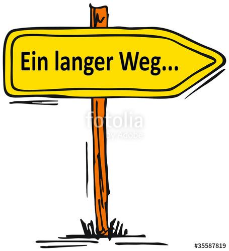 Langer weg clipart clip free download Ein langer Weg...