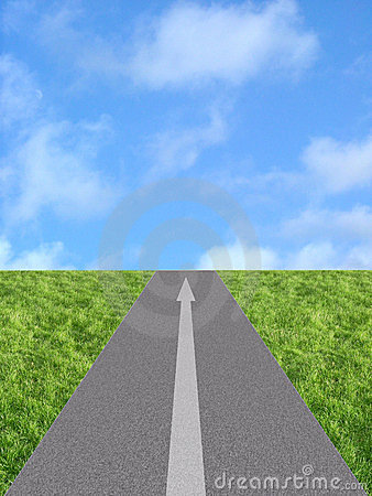 Langer weg clipart banner transparent download Long Way Ahead Royalty Free Stock Photography - Image: 26489157 banner transparent download