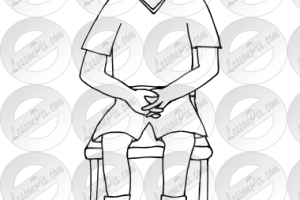 Lap clipart black and white image transparent stock Lap clipart black and white 1 » Clipart Station image transparent stock