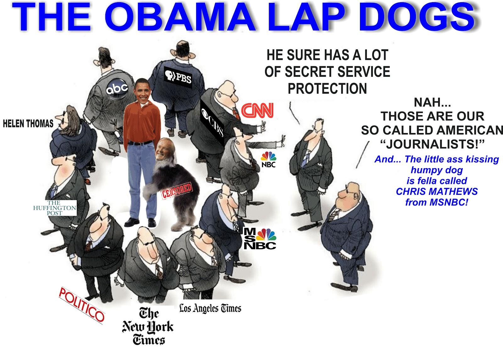 Lapdog media black and white Lapdog Media Goes Rabid-AP, NYT,CNN, HUFFPO Refuse Holder's Off ... black and white