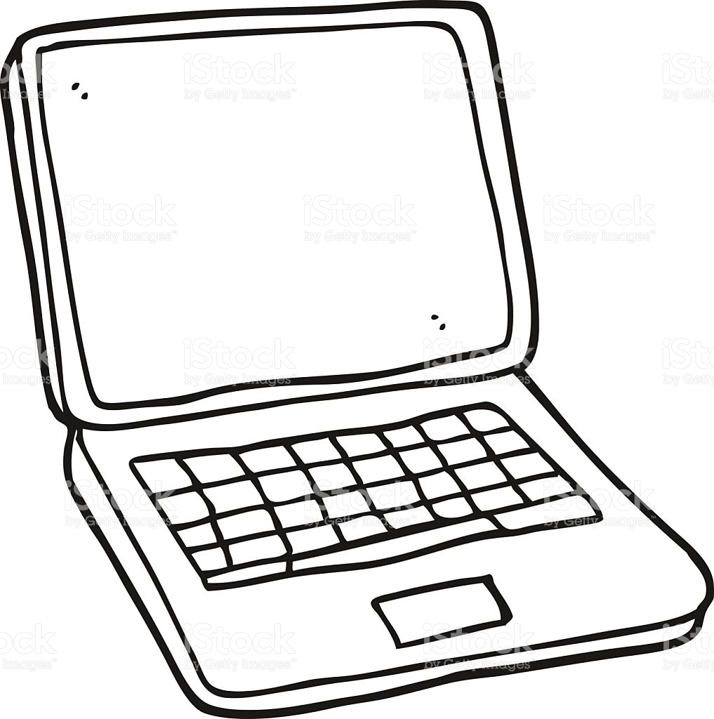 Laptop cute clipart black and white simple jpg transparent download Laptop Clipart Pictures | Free download best Laptop Clipart Pictures ... jpg transparent download