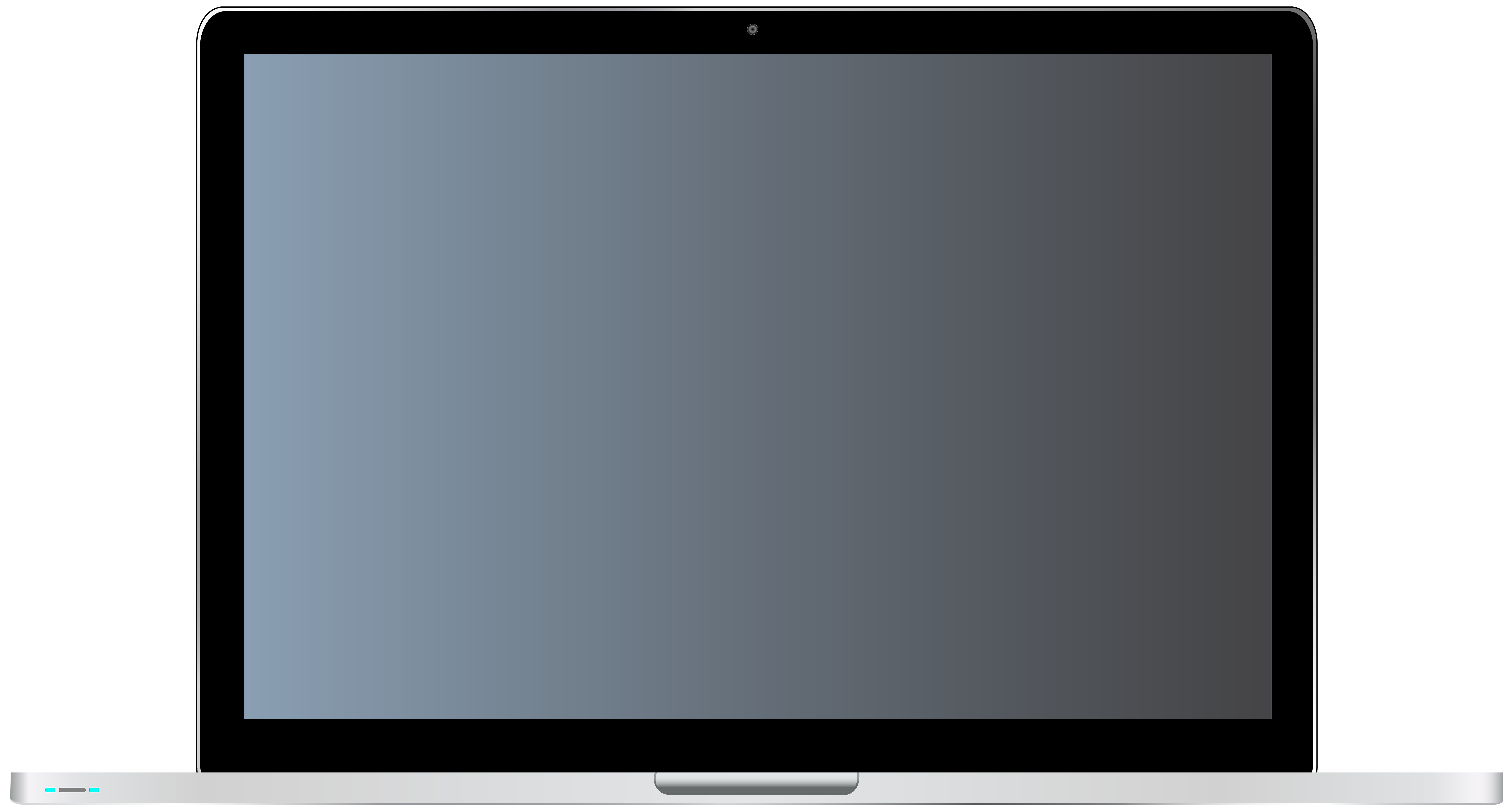 Laptop frame clipart clip art freeuse Laptop Transparent PNG Clip Art | Gallery Yopriceville - High ... clip art freeuse